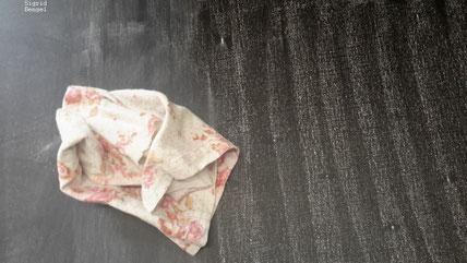 Tuch zum Verwischen der Kreide