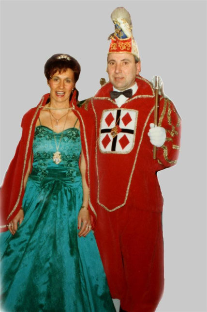 1994 Prinz Franz-Josef Henze II. Prinzessin Irmgard Henze I.