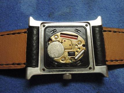 液漏れした腕時計修理