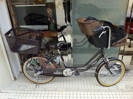 エビス子供乗せ自転車
