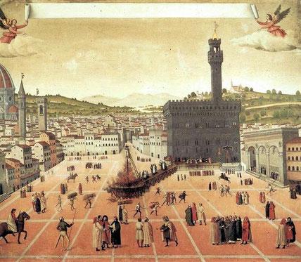 Die Hinrichtung Savonarolas