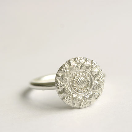 zilveren middelburg ring