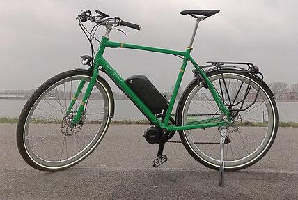 Britannia Contoura met Bafang BBS ombouwset van FON.bike Fiets Ombouwcentrum Nederland