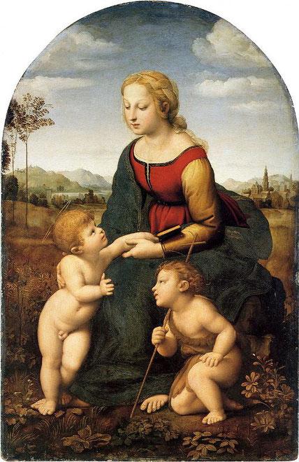 Прекрасная садовница Рафаэля - величайшие шедевры Лувра