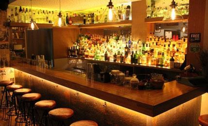 Коктейль-бары в центре Барселоны