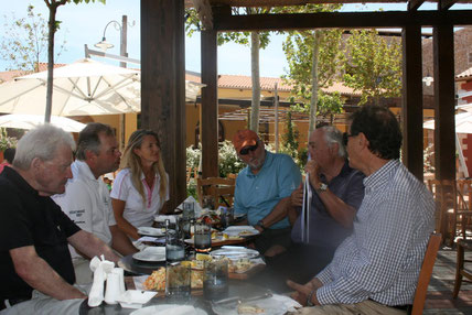 Costa Navarino, Greece  Press Team with Bobby Trent Jones II