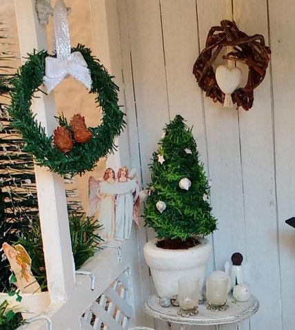 Weihnachtsdeko Puppenhaus