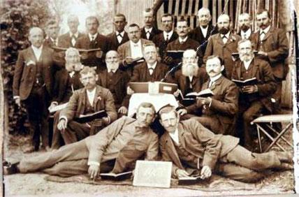 Chor 1908