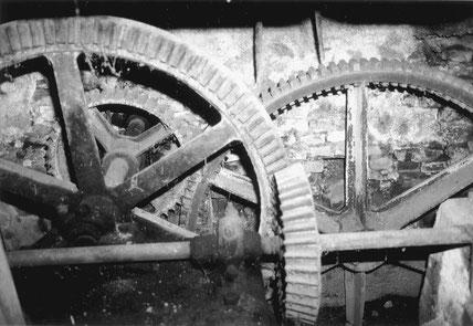 Ausschnitt aus dem Räderwerk in Frommried