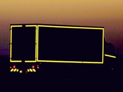 reflektierende auto und lkw folie