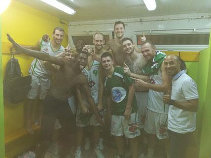 Les séniors 1 emportent leur 1ère victoire en NM2 !
