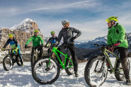 Fat bike Cortina d'Ampezzo