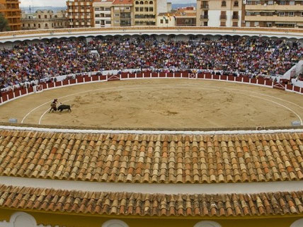Bullfighting in Linares