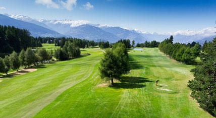 Golf in Crans Montana