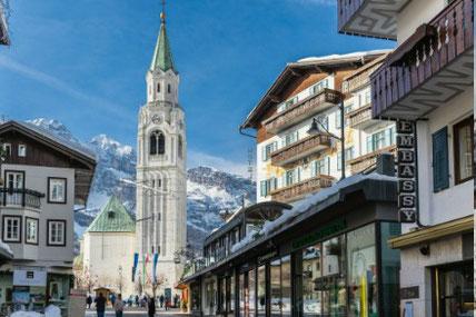 Town centre Cortina d'Ampezzo