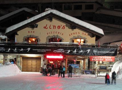 Ice Skating in Cervinia