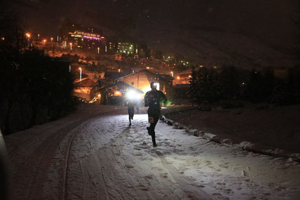 Les 2 Alpes Night snow Trail