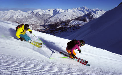 Facilities and Slopes in La Plagne
