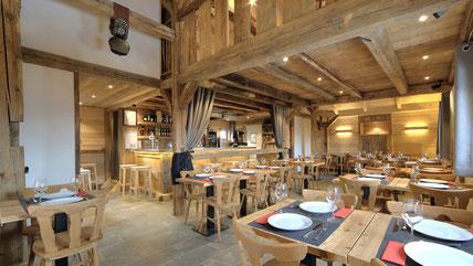 Le tremplin de la Croix Restaurant Copyright Haute Savoie Tourisme