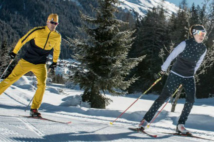 Top things to do in Davos - Cross Country Ski