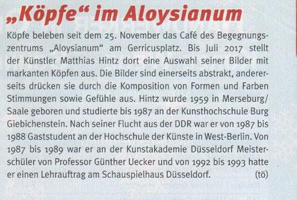 Gerresheimer Gazette, Ausgabe 12-2016