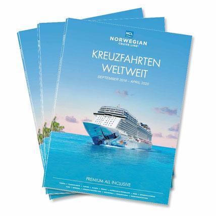Neuer Katalog bei NCL // © Norwegian Cruise Line