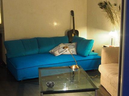 Nice Centre-Luxe-Terrasse, et son luxueux salon