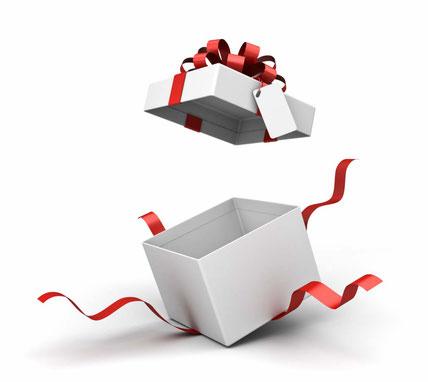 プレゼント:入会の3大特典