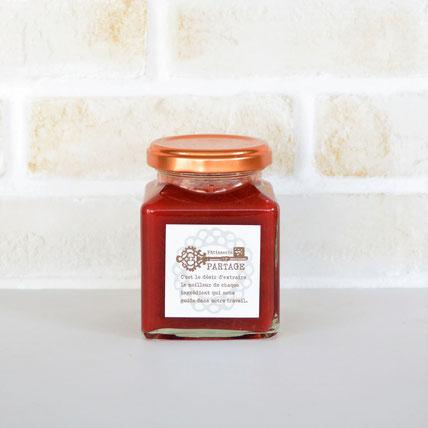 ぎゅぎゅっと果実を詰め込みました confiture nectarin a la menthe  ネクタリン・マント 【ネクタリン・ミント】