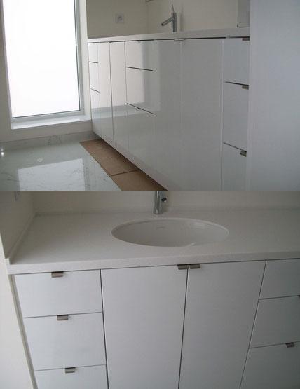 meuble de salle de bain par technibois menuiserie trichereau