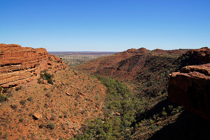 Kings Canyon, Rim Walk, Australien