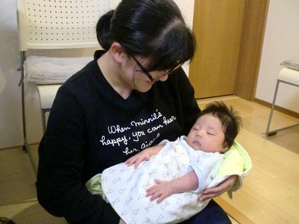 不妊で悩んでいた鯖江市のY.Rさんも、しんそう福井武生に通って妊娠、無事出産されました
