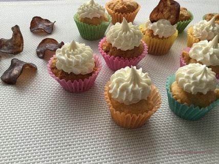 Erdnuss- Cupcakes