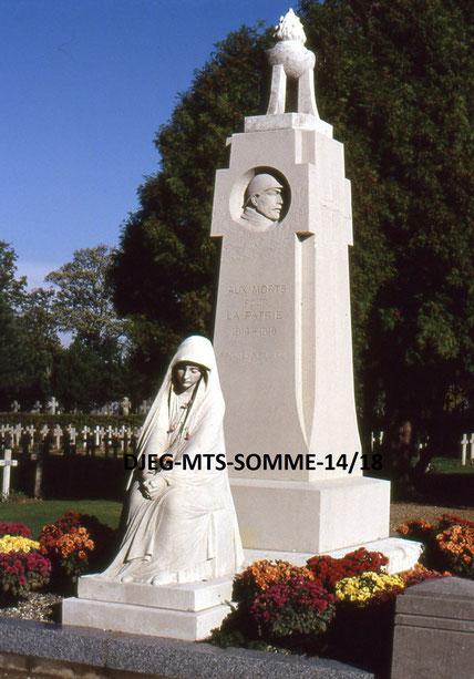Amiens (Cimetière St Acheul) - Albert Roze