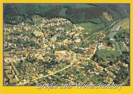 Bild: Postkarte Wünschendorf Elster