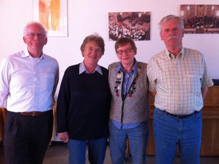 Horst Kruse, Renate Kruse, Renate Schneider, Jan Fischer (nicht im Bild: Karl Busse)