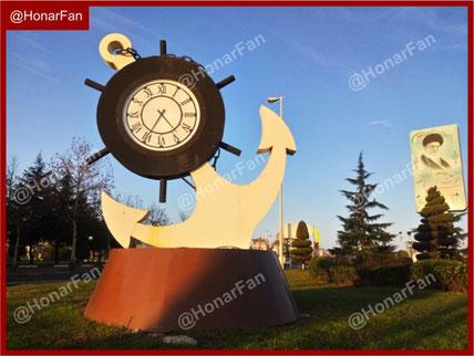 ساخت ساعتهای شهری مدرن المان شهری ساعت سازنده ساعت شهری   ساعتهای بزرگ شهری خرید ساعت صنعتی ساعت دیواری