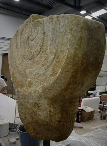 Ficticio de Estela, Museo Oiasso Irún.