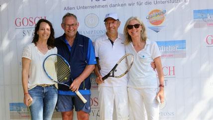 Andrea + Werner von Borstel & Reinhard + Andrea Kutscher