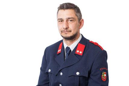 Christian Oberraufner, Feuerwehrmann