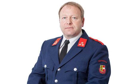 Erwin Pink, Feuerwehrmann
