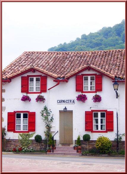 La boucherie à Uzdazubi-Urdax (Pays Basque espagnol)
