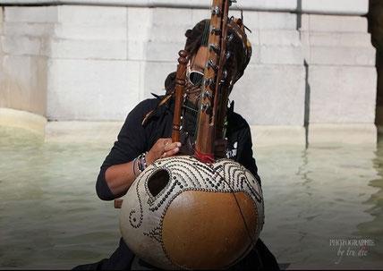 Bild: Musiker am Montmartre