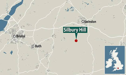 Silbury Hill carte