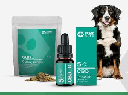 HempMate CBD-Öl PET - Cannabis als Medizin für Hund, Katze, Pferd