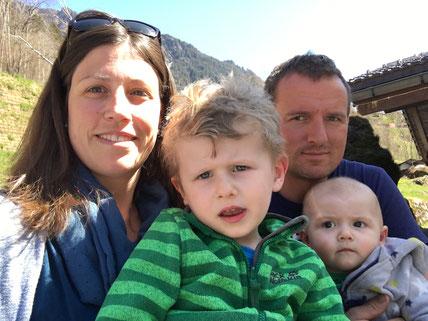 Familie Kolb, Ferien-Chalet Mila, Grindelwald, Schweiz