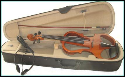 violon électrique avec  étui