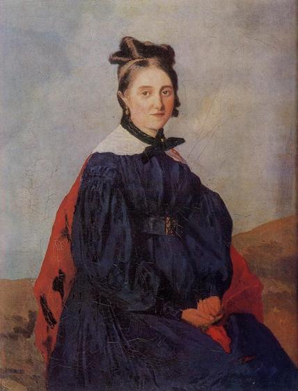 《アレクシーナ・ルドゥー》1830年