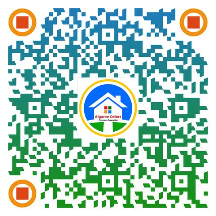 QR-Code do Algarve Colors no Algarve de pinturas e reparações,fonecida pela revistas e empresa Algarve Magazin,melhor empresa de pinturas e reparações no Algarve.