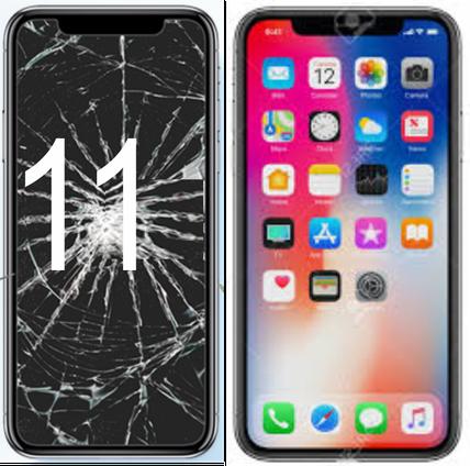 Centro Riparazione iPhone Firenze Sostituzione Schermo iPhone 11 , (fuori garanzia) Con ricambio ORIGINALE,Genius Premium,Garantito con 90 giorni di garanzia.